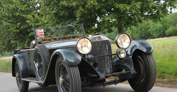 Mercedes-Benz 36/220 6,8 Liter S-Typ (Quelle: BONHAMS)
