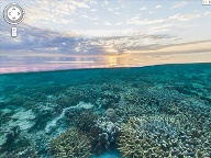 Sonnenuntergang am Great Barrier Reef (Quelle: Google)