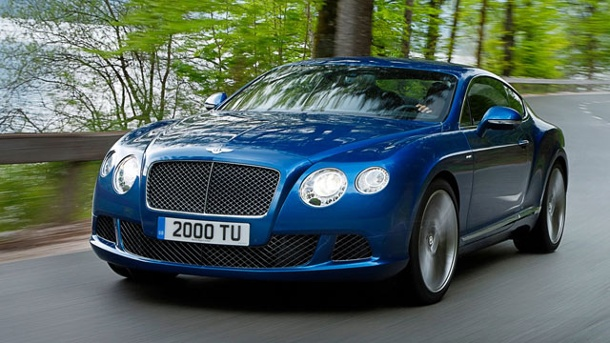 Bentley Continental Speed GT: Das kostet das schnellste Modell der Firmengeschichte. Bentley Continental GT Speed (Quelle: Hersteller)