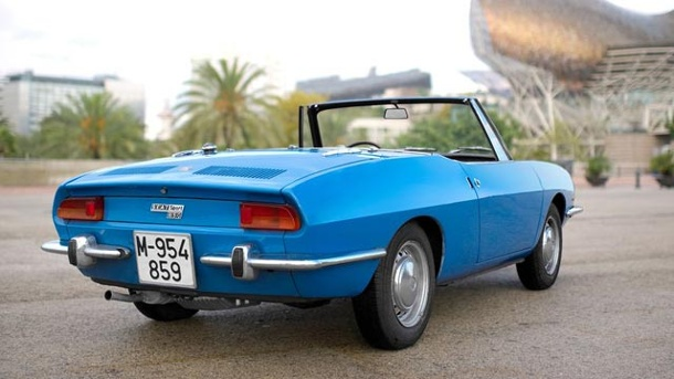 Seat 850 Spider: die Flunder aus Barcelona. Seat 850 Sport Spider (Quelle: Press-Inform)