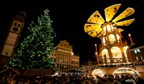 Weihnachtsmarkt in Augsburg (Quelle: dapd)