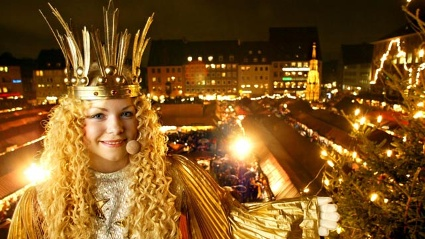Christkindlesmarkt in Nrnberg (Quelle: dapd)