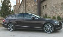 Der Mercedes-Benz CLS Shooting Brake (Screenshot: Car News)