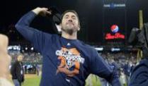 Detroits Baseballer erstes Team in World Series. Detroits Pitcher Justin Verlander feiert den Einzug ins MLB-Finale: Die World Series.