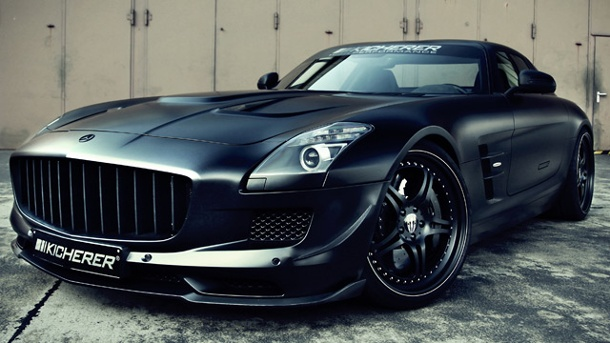 "Kicherer Mercedes SLS 6.3 ""Supercharged GT"". Kicherer SLS 6.3 ""Supercharged GT"" (Quelle: Hersteller)"