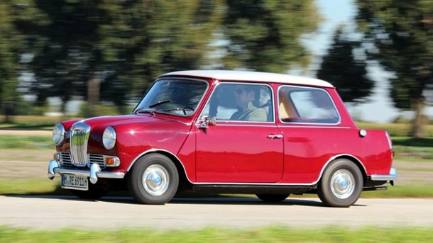 Riley Elf MK III: Der Luxus-Mini. Riley Elf MK III (Quelle: PRESS-INFORM)