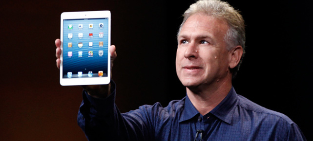 Phil Schiller prsentiert das iPad mini. (Quelle: Reuters)