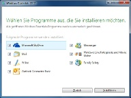 Windows Live Essentials 2012 (Quelle: t-online.de)