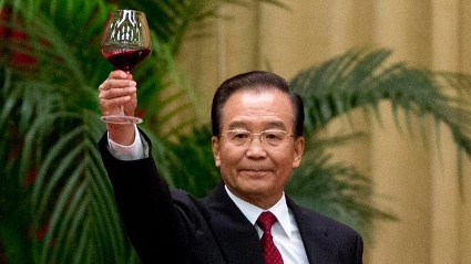 Chinas Ministerprsident Wen Jiabao weist Berichte ber ein angeblich riesiges Vermgen seiner Familie zurck. (Quelle: dapd)