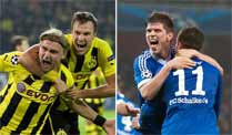 Ruhrpott-Extase in der Champions League. (Quelle: imago)