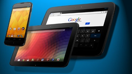 Google Nexus und Windows Phone attackieren Apple iPhone und iPad. (Quelle: t-online.de\Montage)