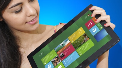 Ungewohnt und neu: Die Bedienung von Windows 8 (Quelle: Microsoft)
