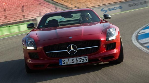 Mercedes-Benz SLS AMG GT: So fährt der 205.000-Euro-Sportler. Mercedes SLS AMG GT (Quelle: Press Inform)
