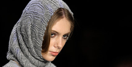 Der Snood ist wohl das heieste Accessoire in diesem Winter (Quelle: Reuters)