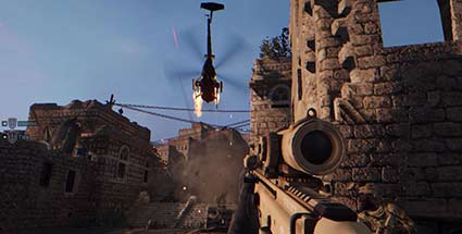 Medal of Honor Warfighter im Test: Popcorn-Shooter von der Stange. Medal of Honor: Warfighter (Quelle: Electronic Arts)