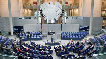 Der Bundestag hat ber das Betreuungsgeld abgestimmt (Quelle: dpa)