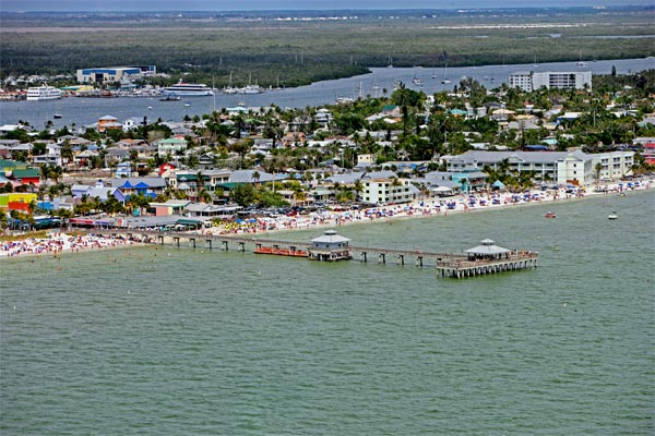 Pier von The Beaches of Fort Myers. (Quelle: Lee County Visitor & Convention Bureau/www.FortMyersSanibel.com)