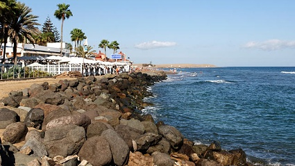Der Strand Maspalomas auf Gran Canaria (Quelle: Thinkstock by Getty-Images)