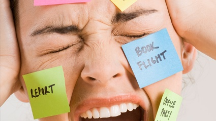 Zu viel Stress macht uns krank.  (Quelle: Thinkstock by Getty-Images)