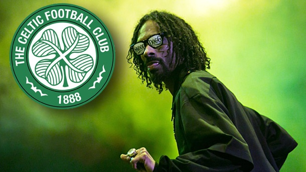 Snoop Dogg liebt Celtic Glasgow: Doggy Style in Schottland. Snoop Dogg: Grün wie das Gras, grün wie Celtic Glasgow. (Quelle: (Foto: imago, dpa))