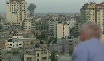 Gaza-Reporter in Gefahr (Screenshot: CNN)