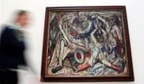 Das Bild &quot;Die Nacht&quot; von Max Beckmann in der Kunstsammlung Dsseldorf.