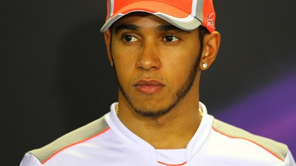 Lewis Hamilton von McLaren-Mercedes (Quelle: imago)