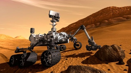 &quot;Curiosity&quot; auf dem Mars (Quelle: Reuters)