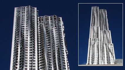 &quot;8 Spruce Street&quot; (Quelle: Courtesy of Gehry Partners)