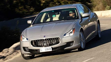 Maserati Quattroporte im Test (Quelle: Press-Inform)
