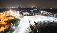 Kaohsiung National Stadion in Taiwan.  (Quelle: imago/Imaginechina)