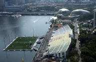 Marina Bay Floating Stadion.  (Quelle: imago Thomas Melzer)