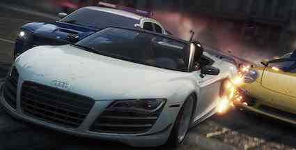 Vollbremsung für schnelle Action: Need for Speed Most Wanted (Quelle: EA)