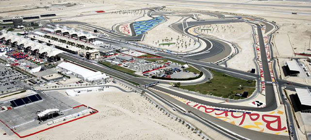 Der Bahrain International Circuit (Quelle: imago)