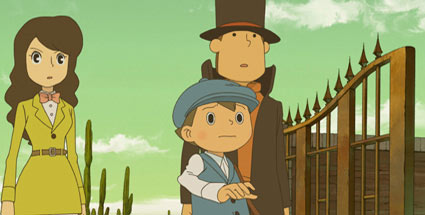 Professor Layton und die Maske der WunderRun (Quelle: Nintendo)