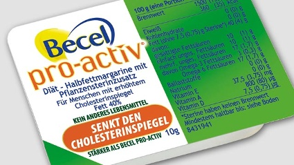 &quot;Becel pro-activ&quot; wird von Foodwatch heftig kritisiert. (Quelle: Unilever)