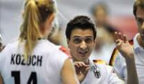 Volleyball-Bundestrainer Guidetti glaubt an EM-Coup. Bundestrainer Giovanni Guidetti glaubt an einen EM-Coup.