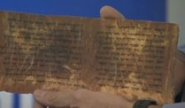 Qumran-Rollen digitalisiert (Screenshot: Reuters)