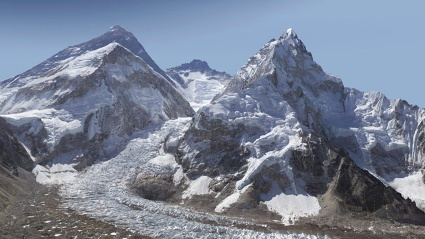 Mount Everest (Quelle: Screenshot: GlacierWorks)