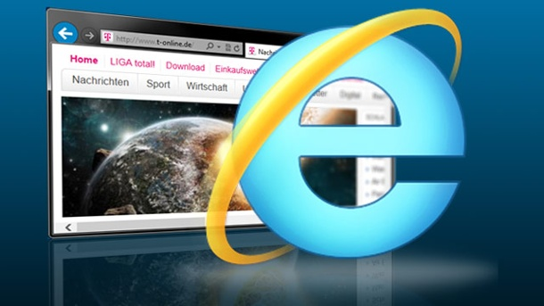 Internet Explorer 11 für optimalen Surf-Speed. Internet Explorer 11 (Quelle: t-online.de/ )