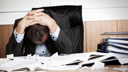 Negativer Stress führt zu Burn-out. Doch jeder empfindet Stress anders. (Quelle: Thinkstock by Getty-Images)