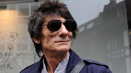 Ronnie Wood hat zum dritten Mal geheiratet. (Quelle: dpa)
