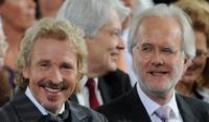 Sie hatten auch schon mehr Zuschauer: Thomas Gottschalk (l) und Harald Schmidt.