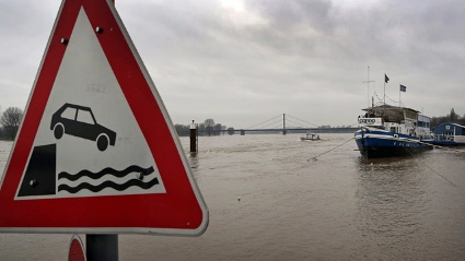 Hochwasser in Deutschland (Quelle: dpa)