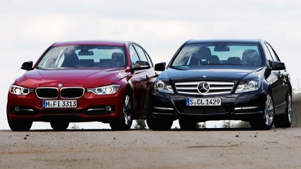 BMW 320d vs. Mercedes-Benz C-Klasse 250 CDI (Quelle: Autoscout24)