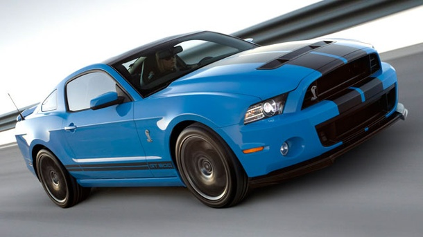 Ford Mustang Shelby GT 500: Pures Muscle-Car. Ford Mustang Shelby GT 500 (Quelle: Press Inform)