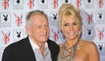 In Ehe vereint: Hugh Hefner und Crystal Harris.