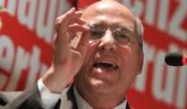Gregor Gysi Ende November 2012 bei einer Wahlkampfveranstaltung in Leipzig.