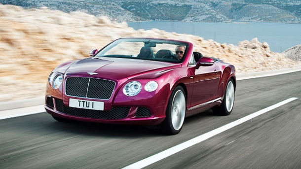 Bentley Continental GT Speed Cabrio: Premiere in Detroit. Bentley Continental GT Speed Cabrio (Quelle: Hersteller)