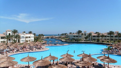 Das &quot;Dana Beach Resort&quot; in Hurghada (Quelle: HolidayCheck)